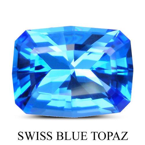 Swiss Blue Topaz Fancy Stones