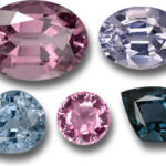 Spinels cut stones