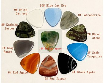Wholesale Gemstone Guitar Picks
