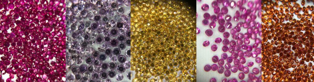 diamond cut sapphires