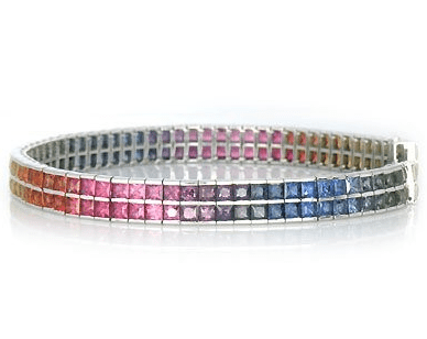 Multi sapphire bracelets