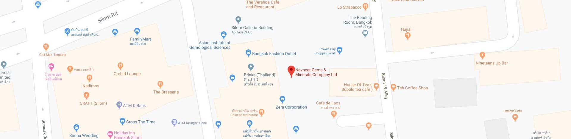 Navneet Gems Google Map