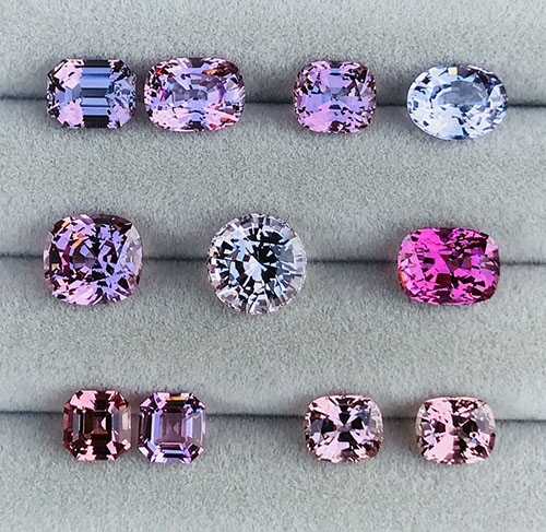 Spinel Colors Range