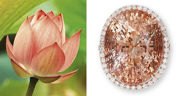 Loose Padparadscha Pink Sapphire
